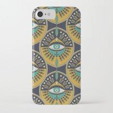 Tribal Evil Eye Pattern Slim Case iPhone 7