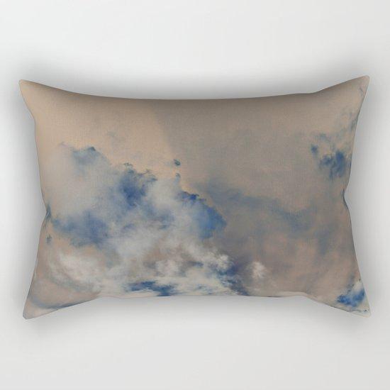 Deep Time Clouds Rectangular Pillow