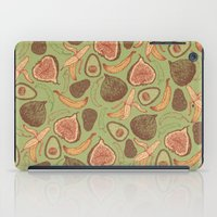 fig iPad Cases featuring Fig by Meredith Miotke