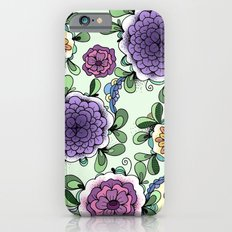 Purple Bloom iPhone 6s Slim Case