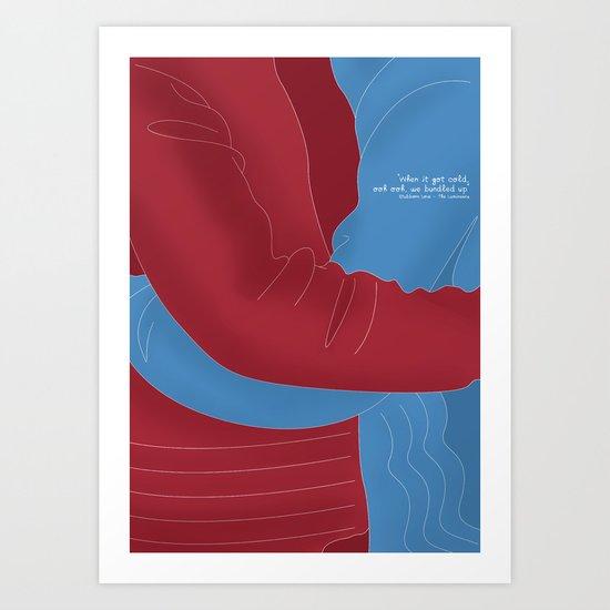 Let's Cuddle Art Print