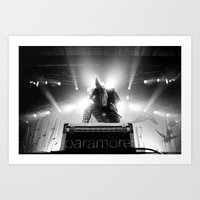 hayley williams Art Prints featuring Hayley Williams by Ethan Luck