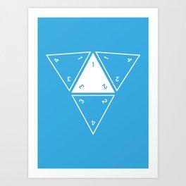 Unrolled D4 Art Print