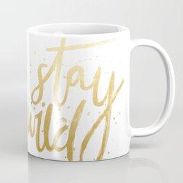 STAY WILD GOLD Coffee Mug