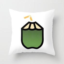 Coco frio Throw Pillow