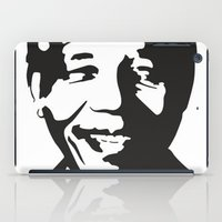 mandela iPad Cases featuring Mandela by b & c