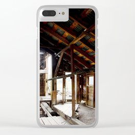 Exploring the Longfellow Mine of the Gold Rush - A Series,No. 5 of 9 Clear iPhone Case