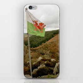 Top of the Hill Welsh Flag iPhone Skin