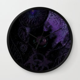 The Gaping Death Wall Clock