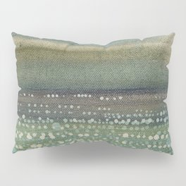 Landscape Dots- Blue Pillow Sham