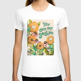 You are My Sunshine- Illustration T-shirt