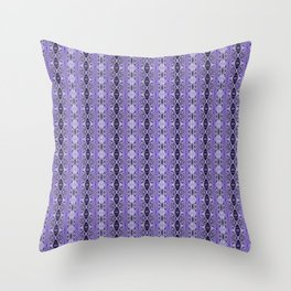 Bejewelled Amethyst Throw Pillow