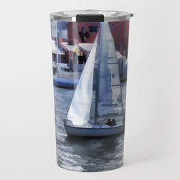 Sail boat Travel Mug