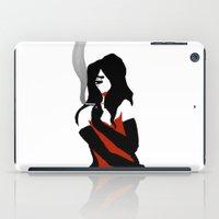 noir iPad Cases featuring Noir by Dvasiia Art