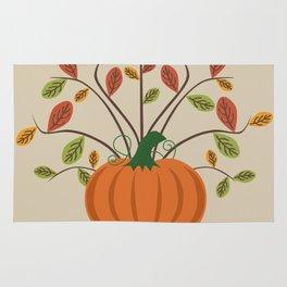 Fall Pumpkin Rug