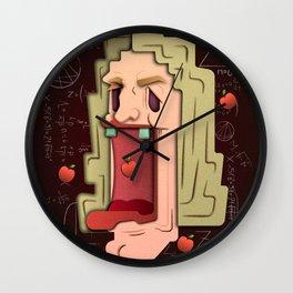 Issac Newton Wall Clock
