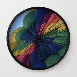 Hot Air Balloon Festival - I Wall Clock