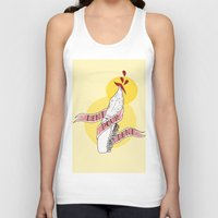 tooth Tank Tops featuring Tooth for Tooth by scoobtoobins
