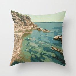 Bruce Peninsula National Park Throw Pillow