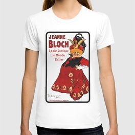 Vintage French Ad - Jeanne Bloch T-shirt