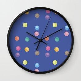 Bubble pattern 3 Wall Clock