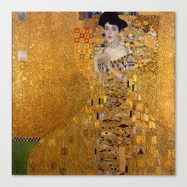 THE LADY IN GOLD - GUSTAV KLIMT Canvas Print