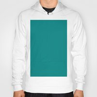 teal Hoodies featuring Teal by List of colors