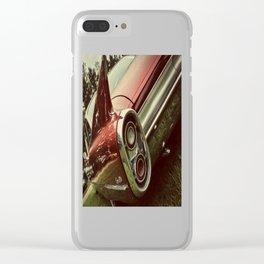 Vintage Car : Red Coupe De Ville Clear iPhone Case