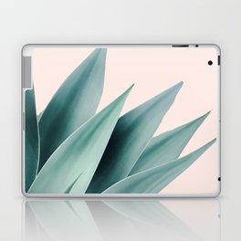 Agave flare II - peach Laptop & iPad Skin