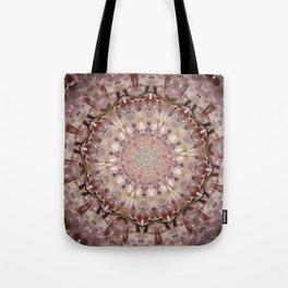 Almond Blossom Mandala Tote Bag