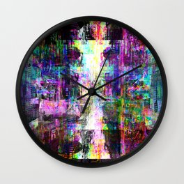 pittance compensation when reflected ruthless pure Wall Clock