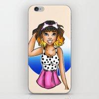 peach iPhone & iPod Skins featuring Peach by Astha Karki