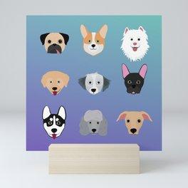 All The Dogs Mini Art Print