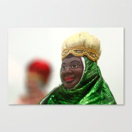 African Wise Men Canvas Print