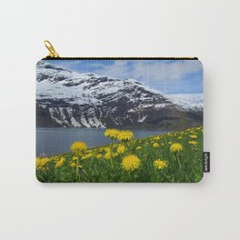 Mountains in spring Carry-All Pouch