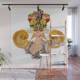 Bloom by Lenka Laskoradova Wall Mural