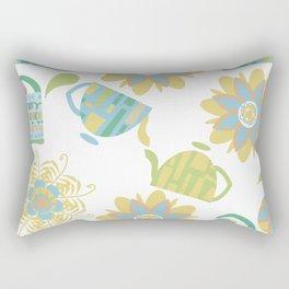 Tea pattern 3f Rectangular Pillow