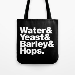 The Fab 4 - Beer Tote Bag