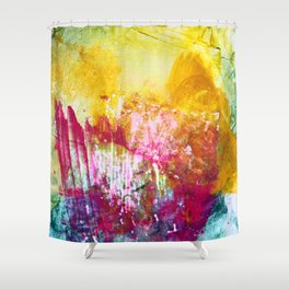 Fireworks - JUSTART Shower Curtain