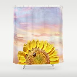 Happiness Floats Shower Curtain