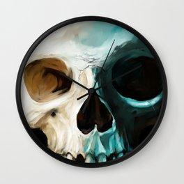 Skull 14 Wall Clock