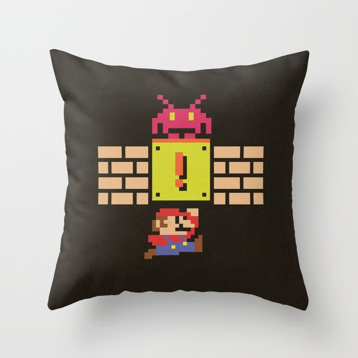 Wrong Role Throw Pillow