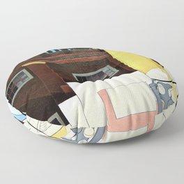 12,000pixel-500dpi -Charles Demuth - Chicago art inst demuth home brave - Digital Remastered Edition Floor Pillow