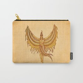 Isis, Goddess Egypt with wings of the legendary bird Phoenix Carry-All Pouch
