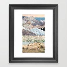 Washes Framed Art Print