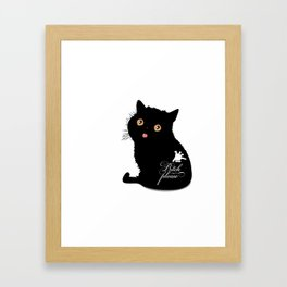 Bitch please Framed Art Print