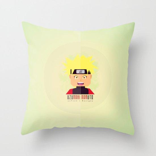 Uzumaki Naruto Throw Pillow