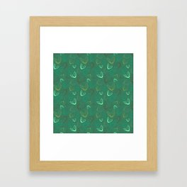 Chilly Autumn (cold version) Framed Art Print