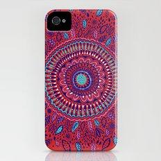 Red and Blue Mandala  Slim Case iPhone (4, 4s)
