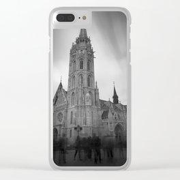 Matthias Church Clear iPhone Case